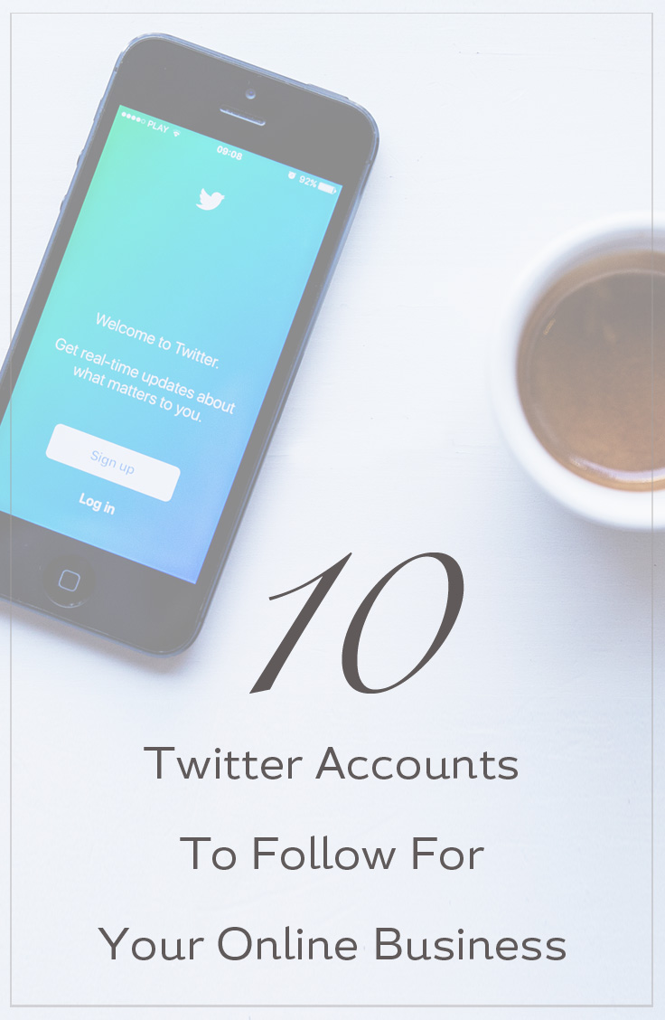 Twitter Accounts To Follow For Your Online Business