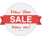 New Year Sale Badge