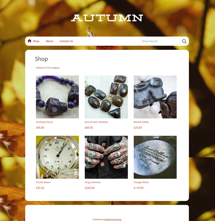 Autum Style Template