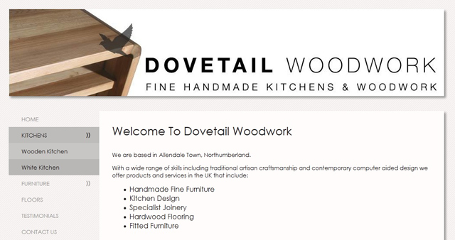 Dovetail Woodwork Screenshot
