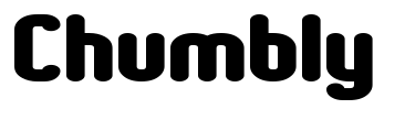 Chumbly font from 1001freefonts