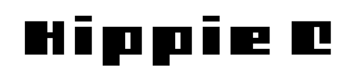 Hippie font from Veer