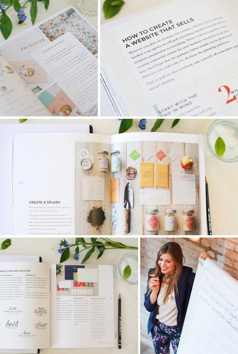 Images from the book How To Style Your Brand By Fiona Humberstone