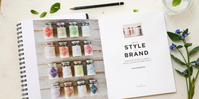 How To Style Your Brand Book By Fiona Humberstone inside the book