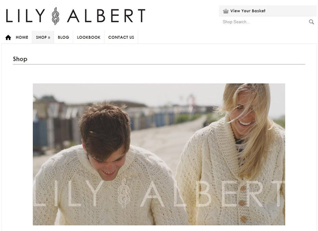 Lily and Albert Homepage