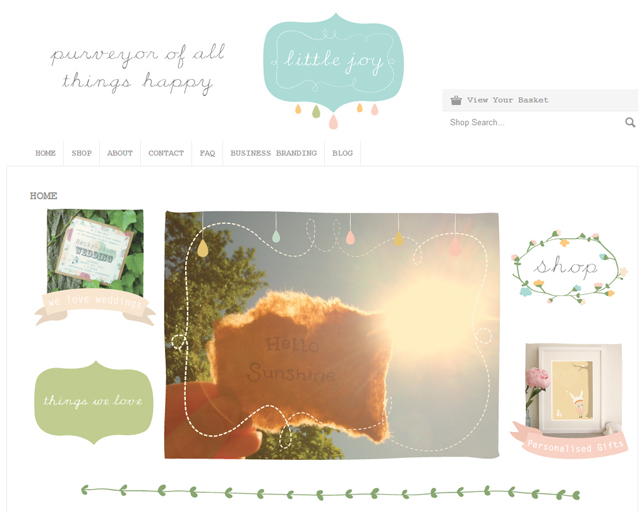 Little Joy Home Page