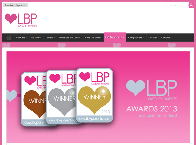 Loved By Parents Awards screenshot