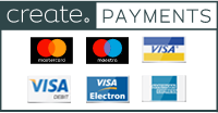 Create Payments Logo in gray