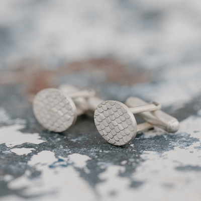 Catkin Cufflinks from alisonmacleod.com