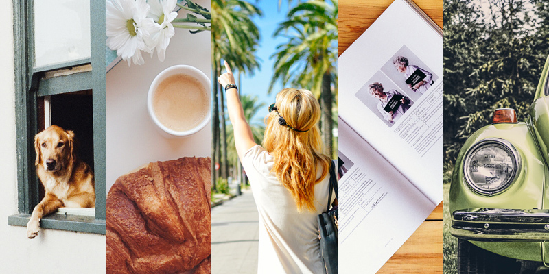 5 images from free stock photos sites