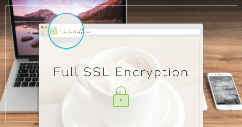 Full ssl with lock and browser