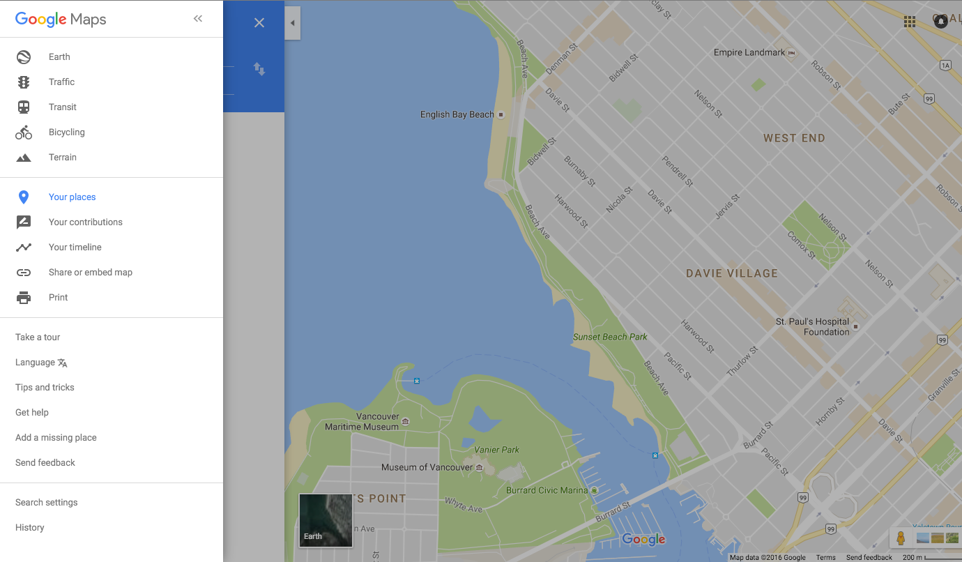 on drop multiple pins on google maps