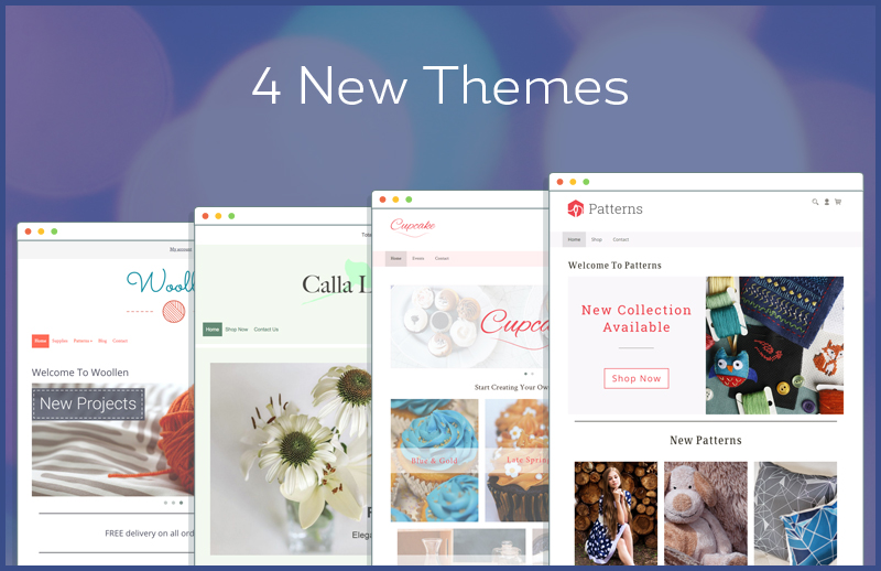 Get Crafty - Creative Concepts For Your Website. 4 New Themes