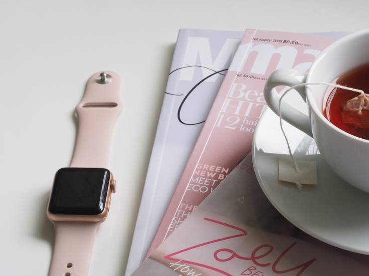 Apple Watch and books