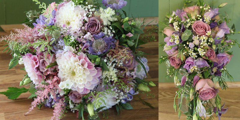 Vintage Wedding Flowers - Bridal Package From flowercraftlindfield.co.uk