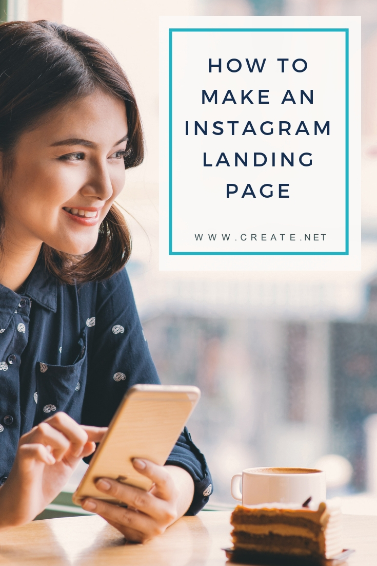Make An Instagram Landing Page Portrait