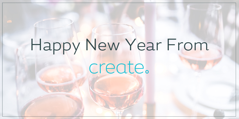 Happy New Year From Create