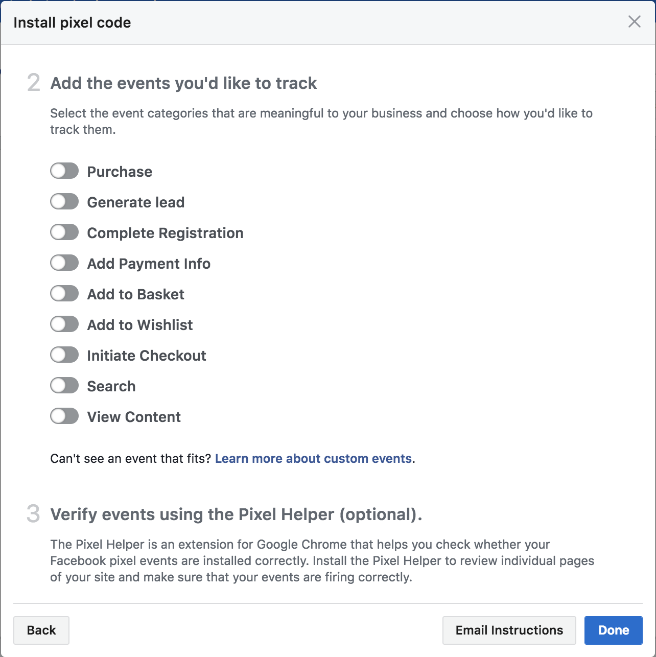 How to Install Facebook Pixel on your Website | Create net