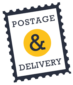 Online business postage options