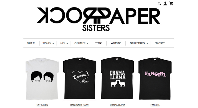 RockPaperSisters Products