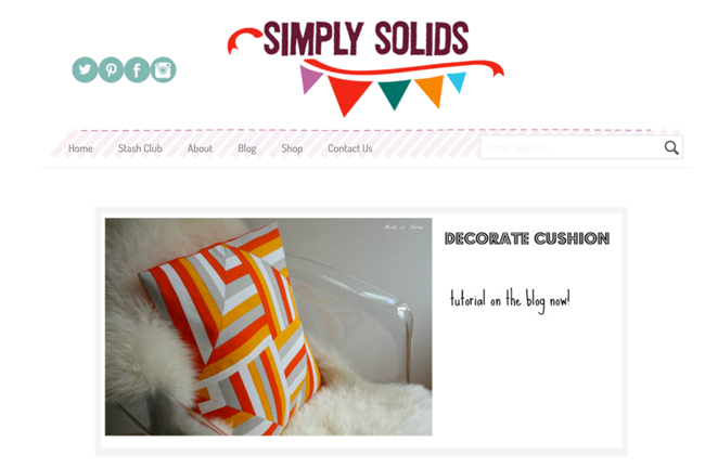 simply solids homepage