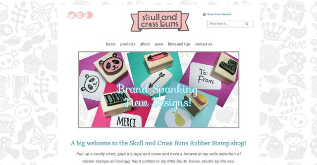 Skull and Cross Buns website