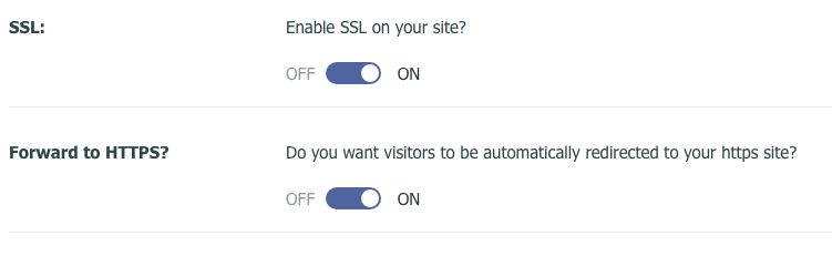 SSL On Switch with HTTPS