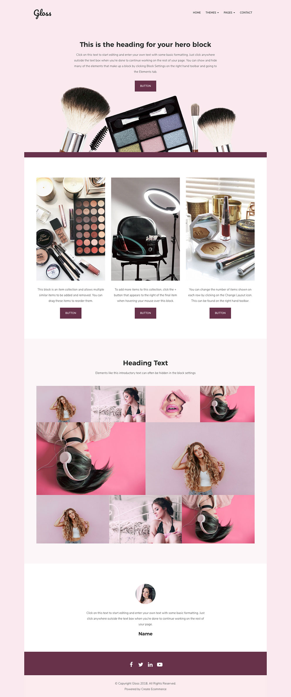 Gloss Ecommerce Store Template