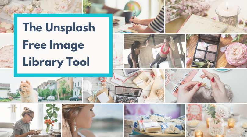The Unsplash Free Image Library Tool on Create