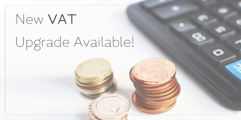 New Vat Upgrade Available