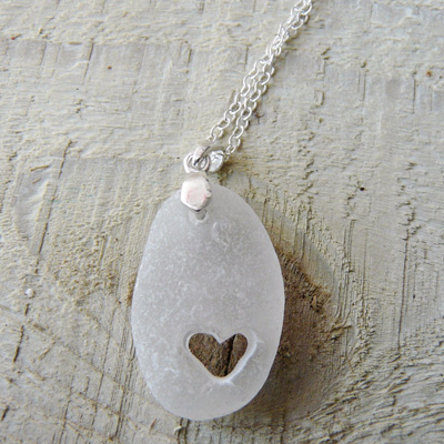 Sea Glass Pendant from seasparkle.co.uk