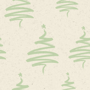 Christmas Tiled Wallpapers with a green christmas tree pattern